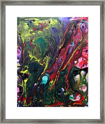 Lost World 3 Framed Print by Laura Barbosa
