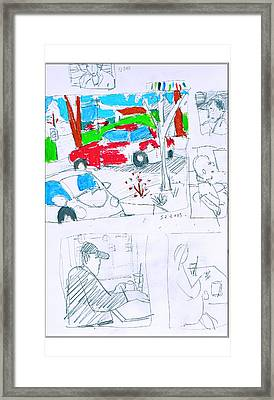 Lot Framed Print by Samuel Zylstra