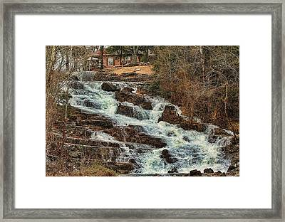 Lots Of Rain Framed Print