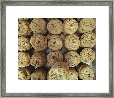 Lotta Cookies Framed Print
