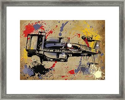 Lotus 1984 Framed Print