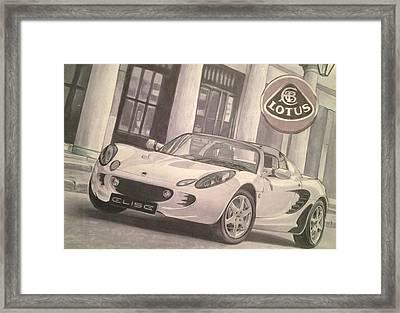 Lotus Framed Print by Aaron Kochut