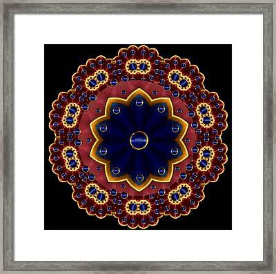 Lotus Bloom Framed Print by Pepita Selles