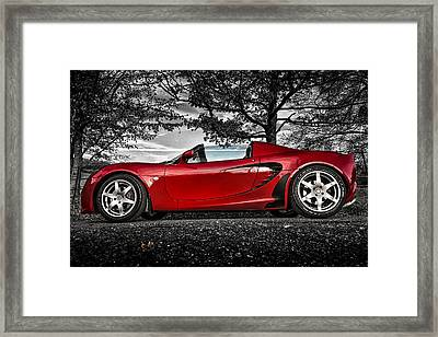 Lotus Elan Framed Print by Ian Hufton