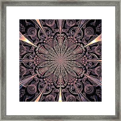 Lotus Gates Framed Print by Anastasiya Malakhova