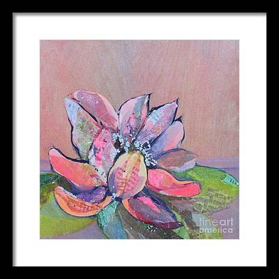 Lily Flower Framed Prints