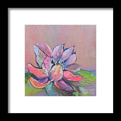Cactus Flower Framed Prints
