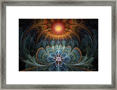 Lotus Rising Framed Print