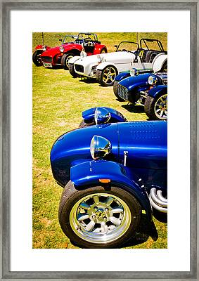 Lotus Seven Framed Print by Phil 'motography' Clark