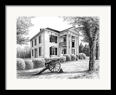Lotz House Drawings Framed Prints