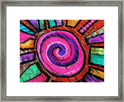 Loud Framed Print by Chris Berry