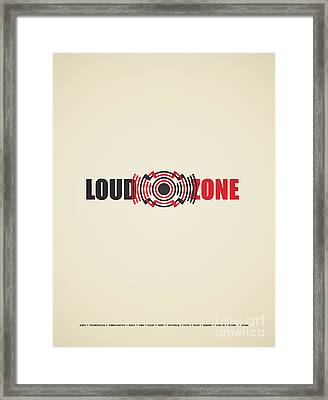 Loud Zone Framed Print by Igor Kislev