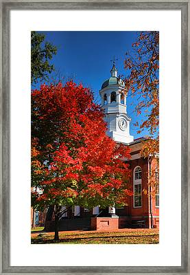 Loudon County Courthouse II Framed Print by Steven Ainsworth