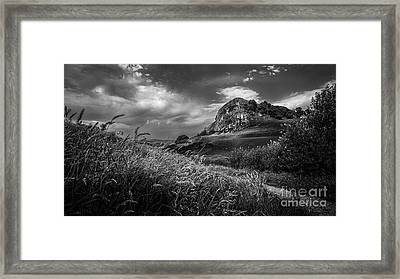Loudoun Hill Framed Print by John Farnan