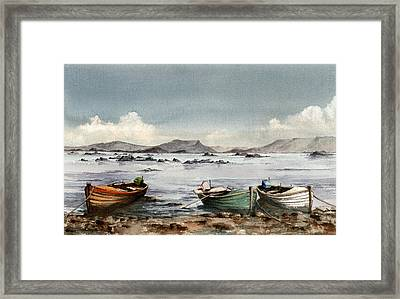 Lough Mask  Mayo Framed Print