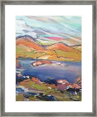 Loughrigg Fell Lake District Framed Print