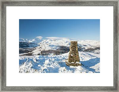 Loughrigg In The Lake District Framed Print