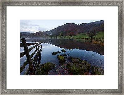 Loughrigg Tarn Framed Print