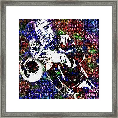 Louie Armstrong Framed Print