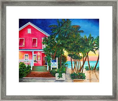 Louie's Backyard Framed Print by Phyllis London