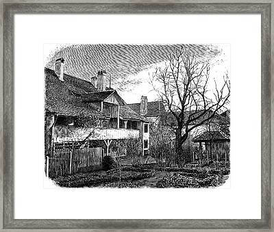 Louis Agassiz's Birthplace Framed Print by Universal History Archive/uig