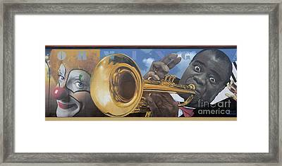 Louis Armstrong Framed Print by Bob Christopher