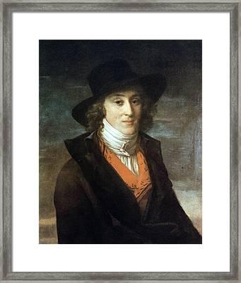 Louis De Saint-just (1767-1794) Framed Print by Granger