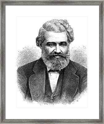 Louis Favre Framed Print by Bildagentur-online/tschanz
