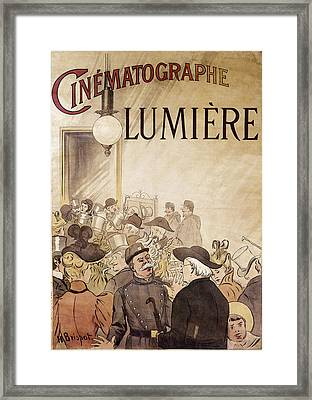 Louis Lumiere (1864-1948) Framed Print by Granger