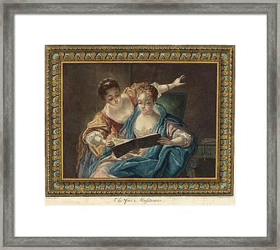 Louis-marin Bonnet French, 1736 - 1793 Framed Print