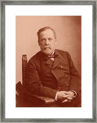 Louis Pasteur Framed Print by American Philosophical Society