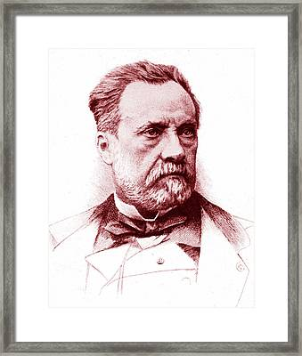 Louis Pasteur Framed Print