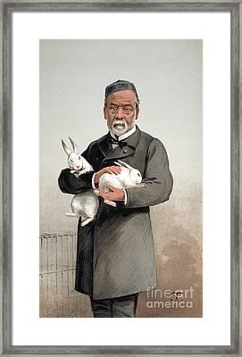 Louis Pasteur Framed Print by Granger