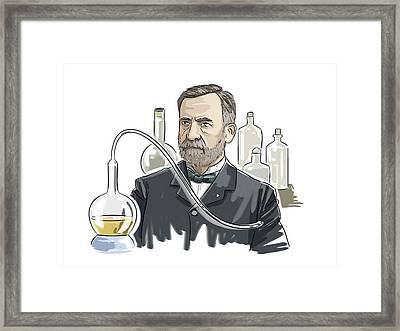 Louis Pasteur Framed Print by Harald Ritsch