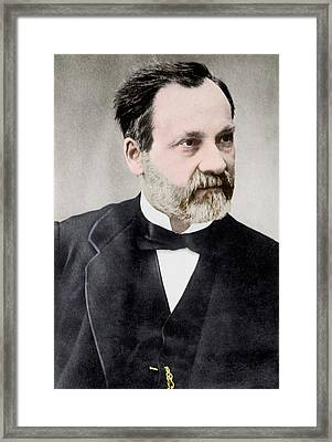 Louis Pasteur Framed Print by Library Of Congress