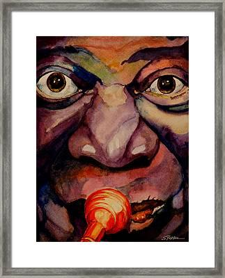Louis Framed Print by Scott  Parker