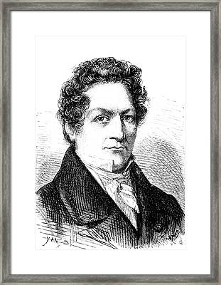 Louis Thenard Framed Print