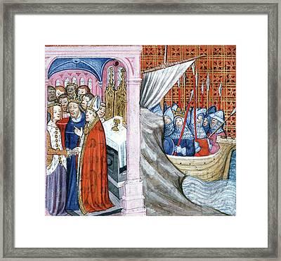 Louis Vii (1120?-1180) Framed Print