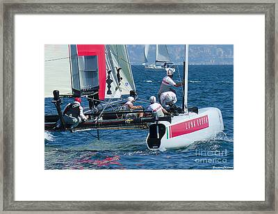 Louis Vuitton Cup Framed Print by Giovanni Chianese