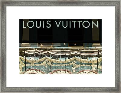 Louis Vuitton Framed Print