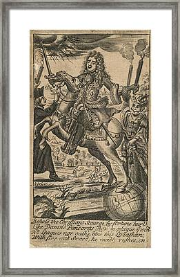 Louis Xiv Framed Print by British Library