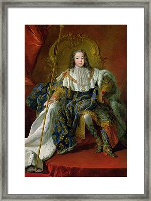 Louis Xv Framed Print