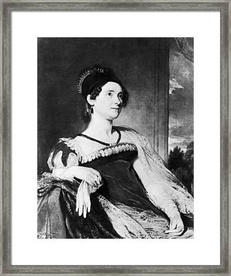 Louisa Catherine Adams (1775-1852) Framed Print