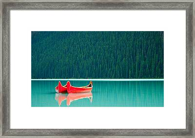 Louise Reflection Framed Print