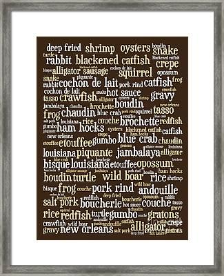Louisiana Cajun Heaven 20130625bwwa85 Framed Print