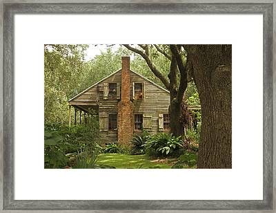 Louisiana Cajun Home Framed Print