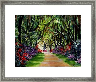 Louisiana Lane Framed Print