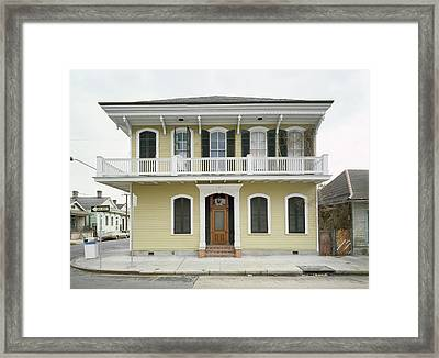 Louisiana New Orleans Framed Print