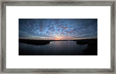 Louisiana Sunrise Framed Print