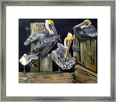 Louisiane Berceuse Framed Print